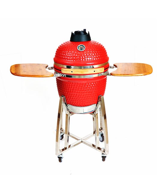 "18"" CLASSICAL KAMADO(RED)"